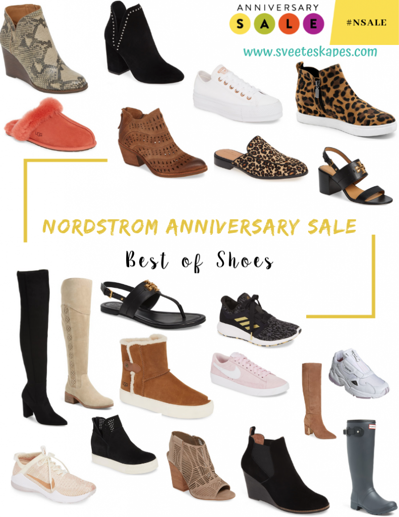 Best shoes from the Nordstrom Anniversary Sale featured by top US fashion blog, Sveeteskapes