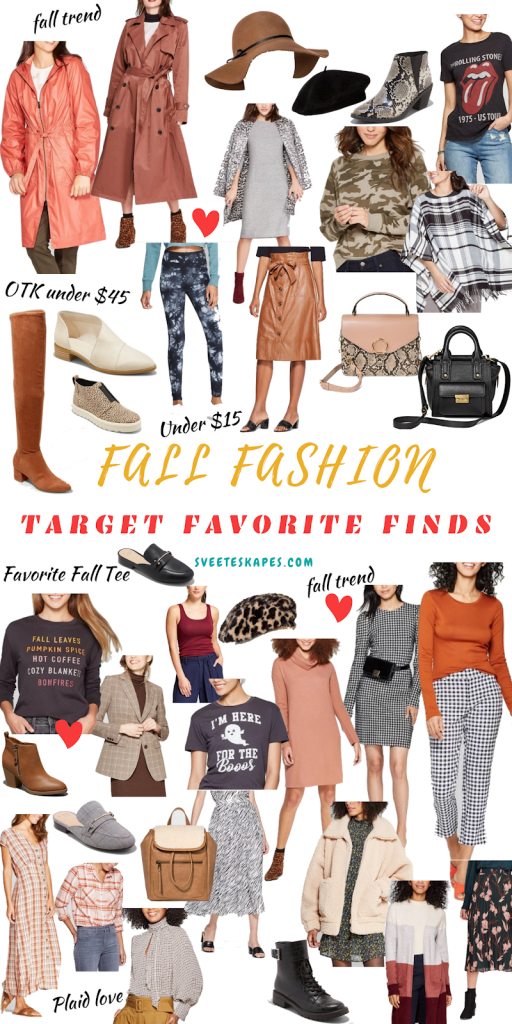 Target Fall Fashion on a Budget  featured by top US life and style blog, Sveeteskapes