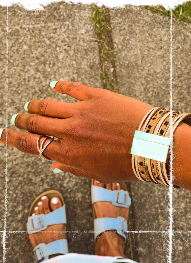 Top 10 September Favorites featured by top US life and style blog, Sveeteskapes: magnetic bracelets
