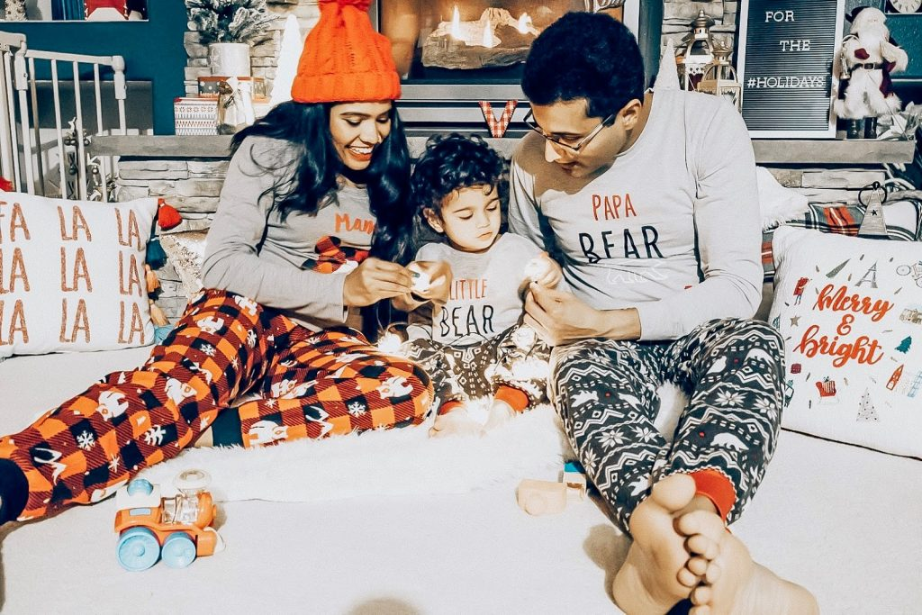 Top 10 September Favorites featured by top US life and style blog, Sveeteskapes: matching family pyjamas